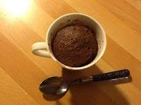 Uit mijn keukentje: Chocoladecakeje uit een mok