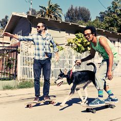 Jason Lee and Chris Pastras