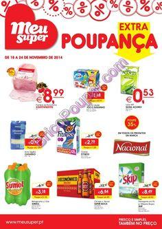 Antevisão Promoções Folheto Meu Super - de 18 a 24 de Novembro - Extra Poupança