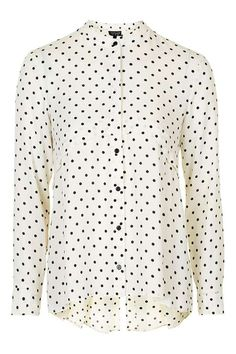 Pinspot Pleat Back Shirt