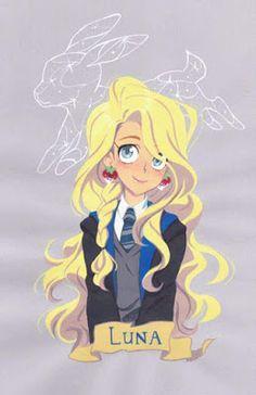 WallPotter: Luna Lovegood