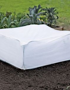 Tall Frost Pop-Up Cover, 4' x 4 by Gardener's Supply. $10.95. Slip these frost covers over your Pest Control Pop-Ups, sold separately, during early cold snaps, or leave them on to extend the growing season by weeks or even months! Polypropylene fabric provides frost protection down to 24 degrees F with 43% light transmission.