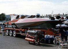Harrahs Tahoe, Tilt Trailer, Speed Boats, Water Crafts, Trailers, Vintage, Motor Boats, Pendants, Handmade Crafts