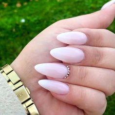 Indigo Gel Polish Milky Pink, Milky White + Sugar Effect Gel by Indigo Educator Renata Mastalska, Chrzanów + Andrychów #nails #nail #indigo #ombre #nude #white #babyboomer #pink