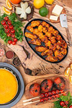 Joojeh Kabab Recipe | Persian Chicken Kebab | Persian Kabab Recipes Turkish Recipes, Greek Recipes, Ethnic Recipes, Persian Recipes, Chicken Marinades, Chicken Recipes, Afghanistan Food, Persian Chicken, Kabob Recipes