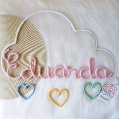 Rope Crafts, Yarn Crafts, Spool Knitting, Wire Crochet, Granny Square Blanket, String Art, Diy Flowers, Lana, Free Pattern
