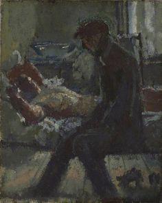 Lisa Tickner, 'Walter Sickert: The Camden Town Murder and Tabloid Crime' c. Oil paint on canvas (The Camden Town Group in Context) Walter Sickert, Chaim Soutine, Camden Town, Impressionist Artists, Digital Museum, Collaborative Art, Art Uk, Vintage Artwork, Figure Painting