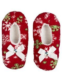 Slipper socks, Reindeer and Slippers on Pinterest
