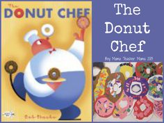 Boy Mama Teacher Mama | The Donut Chef- book activities and printables for the book.