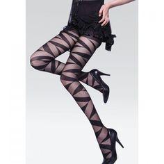 Retro Style Thin Transparent Skinny Black Nylon Women's Tights, BLACK, ONE SIZE in Leggings | DressLily.com