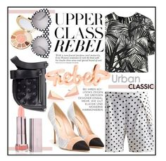 """""""{chic et rebelle}"""" by clovers-mind on Polyvore"""