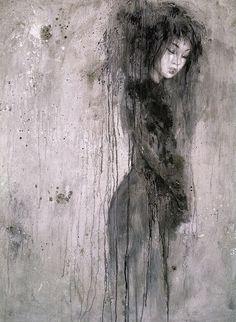 Dead Moon - Fantasy Art by Luis Royo www.luisroyo.com