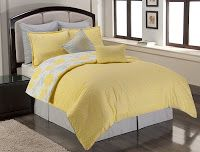 Grey And Yellow Bedding Sets - Grey And Yellow Bedroom Decor Ideas