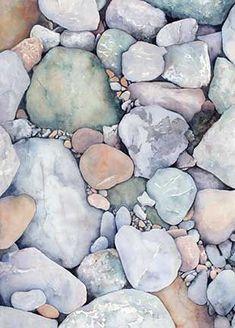 Textura pedras coloridas