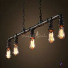 Baby Products YRL Iron wall lamp Lighting industrial style wall lamp for single-layer studio American Retro Loft tube