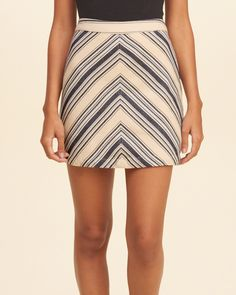 Girls Chevron A-Line Skirt | Girls New Arrivals | eu.HollisterCo.com