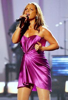 Alicia Keys with Egypt