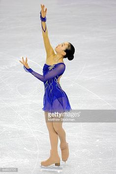 Mao Asada of Japan skates in the Short Program during the ISU Four Continents Figure Skating Championships at Pacific Coliseum on February 4 2009 in...