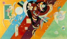 Vassily Kandinsky, 1936 - Composition IX - Vassily Kandinsky — Wikipédia