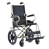 Karma Km 2500 Wheelchair - KMM 2500 is • Attendant wheelchair • Best in class Material - Aircraft grade aluminum alloy frame. •Suitable for users living in limited space and with attendant (note that it does not allow self-propel); quick transit •Attendant-friendly design due to its light weight and compact size. #wheelchair   #hospital   #patient