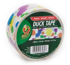 Paint Splatter Duct Tape