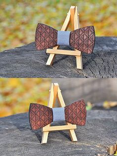 Wooden bow tie Wood bow tie wood bowtie wooden bowtie