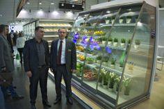 Messe Düsseldorf - Stoisko firmy JBG2. Od lewej: Łukasz Nowak (LNS), Lech Gold (JBG2)