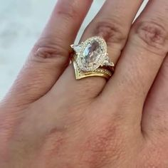 14k Gold & Champagne, White Diamonds Butterfly Chrysalis, Flying Flowers, Champagne Diamond, Gold Bands, Ring Designs, Heart Ring, Anna Sheffield, Fine Jewelry, White Gold