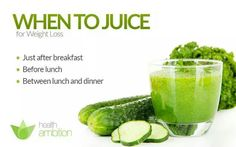 When to juice!!!!