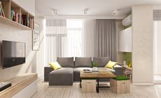 Two Different Springtime Themes In Two Small Apartments - Home Decorating Stores Small Living Rooms, Living Room Decor, Living Spaces, Interior Decorating Styles, Home Interior Design, Interior Ideas, Apartment Interior, Apartment Design, New Home Builders
