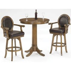 Beechwood Mountain PB-241B24-W 3Piece Solid Beech Wood Pub Set for ...