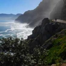 Take a drive along Chapman's Peak in Cape Town with roads up to above sea level Sea Level, Cape Town, Roads, Waterfall, Road Trip, Outdoor, Outdoors, Road Routes, Road Trips