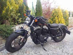 Harley-Davidson sportster 48 als Chopper/Cruiser in lubin Sportster 48, Harley Davidson Sportster, Chopper, Motorcycle, Vehicles, Rolling Stock, Choppers, Motorcycles, Vehicle