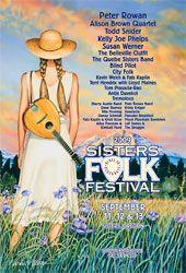 Sisters Folk Festival 2009 poster - by Dennis McGregor Todd Snider, Sister Band, Cd Design, City Folk, Folk Festival, Festival Posters, Over The Years, Life Is Good, Graphic Art