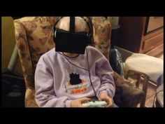 Grandmother Uses Oculus Rift as Therapy - YouTube