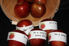 SINGING TIME IDEA: Beehive Messages: Primary Music Idea - Singing Apples