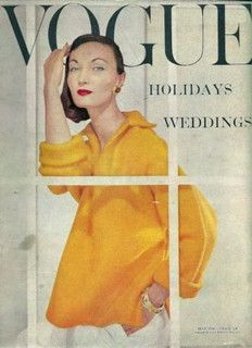 Evelyn Tripp Vogue November 1956