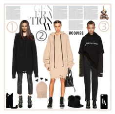 """""""Heads Up! Cute Hoodies"""" by yours-styling-best-friend ❤ liked on Polyvore featuring Unravel, Vetements, Burberry, Kate Spade and Casetify"""