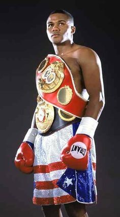 "Félix ""Tito"" Trinidad, Jr., boxer."