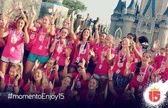 #MomentoEnjoy15 es cantar en todos los parques con tus amigas!  #enjoy15