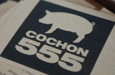 Cochon 555 is a nationwide tour that challenges five chefs to prepare at least 5 dishes using all parts of the pig.  The winners from each city will go head to head in Aspen, Colorado to crown the King or Queen of Porc.