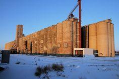 Big and rusty - Lincoln, Nebraska.