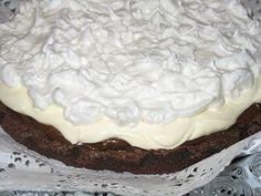 Brownie con merengue