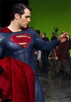 clark kent, gif, and Henry Cavill image Superman Man Of Steel, Batman Vs Superman, Superman Stuff, Dc Comics, Superman Henry Cavill, Film Man, Love Henry, Hollywood Men, Clark Kent