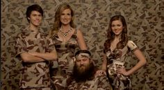 Willy's family in camo