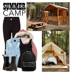 """""""Camping"""" by directioner-123-ii ❤ liked on Polyvore featuring West Elm, New Look, Theory, Dr. Martens and STELLA McCARTNEY"""