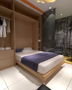 LOFT 22m2 by luis silva, via Behance