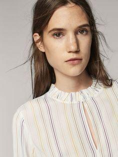 Women's Shirts & Blouses | Massimo Dutti Autumn Winter Collection