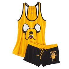 Adventure Time Junior& 2 Pc Pajama Set - Assorted Colors (I& not an Adventure Time fan but these are cute) Diesel Punk, Satin Pyjama Set, Pajama Set, Visual Kei, Womens Fashion Online, Latest Fashion For Women, Cyberpunk, Adventure Time Clothes, Rockabilly