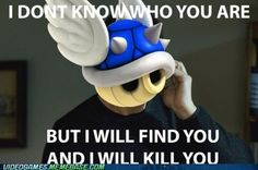 Mario Kart blue shell...yeah pretty much....and always right before you cross the finish line in first...